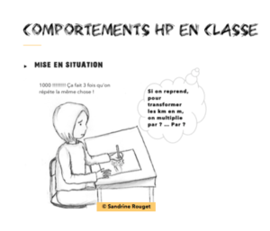 Comportements HP en classe